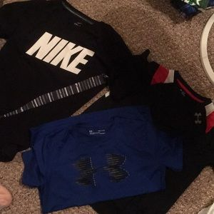 3 dri fit T-shirt's  XL Nike, 2-YLG UA T-shirts